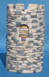 Round Tower for Straight Walls