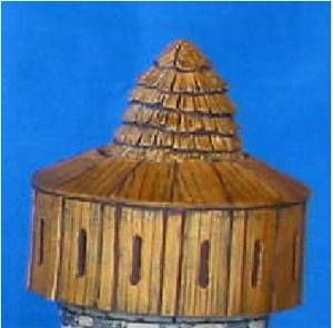 Defensive Wooden Tower Top