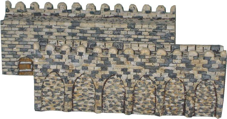 Crusader Castle Six Inch Wall Section