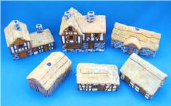 Thatched Roof Buildings