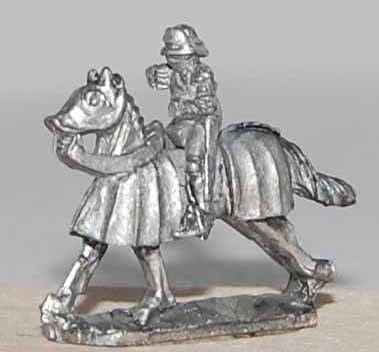 """Gothic"" Knights on Armoured Horses"