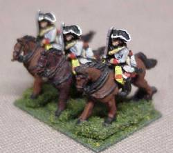 Dragoon Troopers in Tricorne