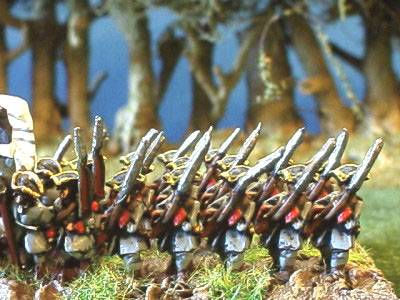Infantry Tricorn Advancing