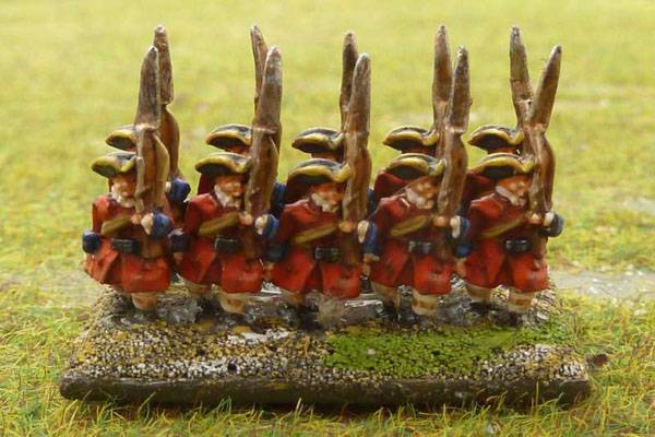 French Marlburian Infantry