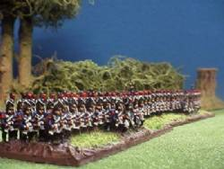 Old Guard Grenadiers with Command