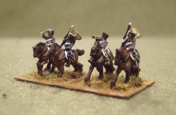 Prussian Dragoon Command
