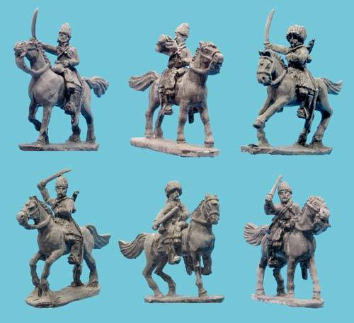 Afghan Regular Cavalry with Command