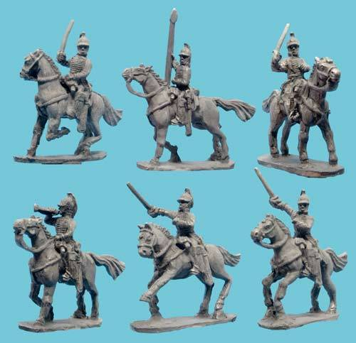 US Light Dragoons with Command