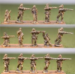 Union Infantry Firing Line/Backpack