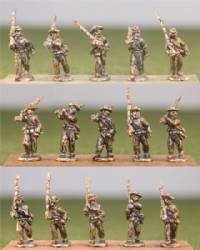 Confederate Infantry Marching/Light Equipment