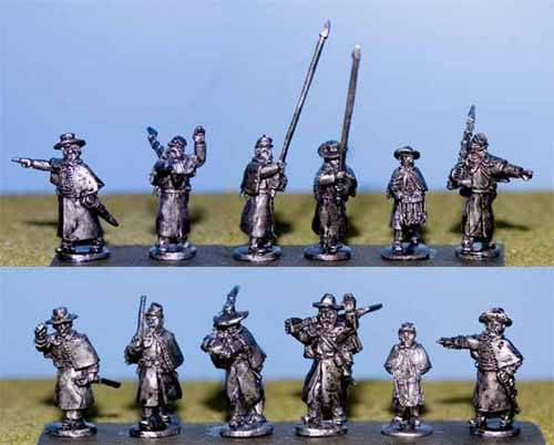 Infantry Command in Greatcoats