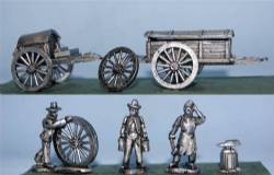Forge and Battery Wagons