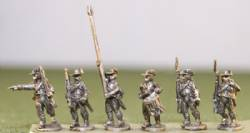 British Infantry Command in Roundabouts, Round Hats