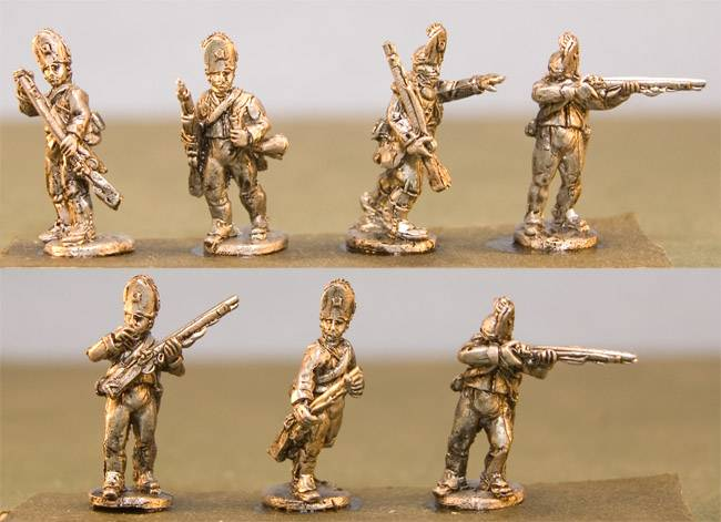 Queens Rangers Infantry with Command