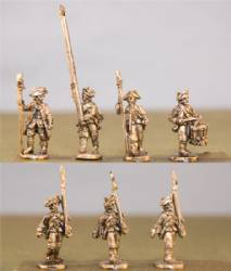 Hessian Musketeers with Command