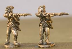 Continental Infantry Firing Regimental Coats