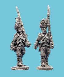 French Infantry Elite Company In Bearskins
