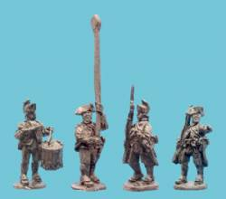 Saratoga British Infantry Command