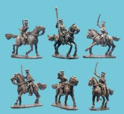 US Dragoons with Command