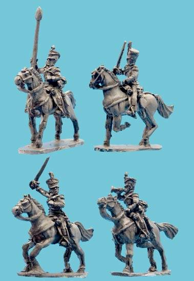 Light Dragoon Command in Shako