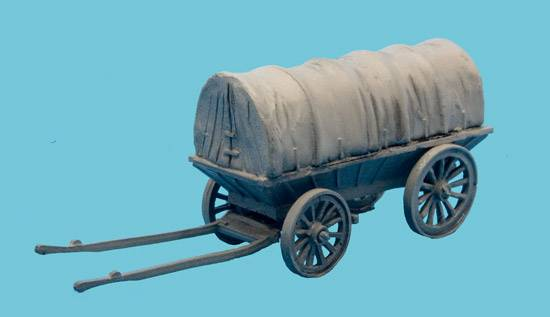 4 Wheel Ammunition Wagon