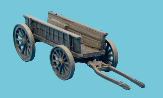 British Four Wheeled Ammon Wagon Early