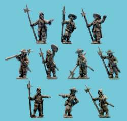 Sergeants with Halberds