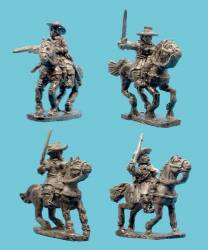 Heavy Cavalry with Soft Hats
