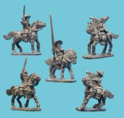 Cavalry Command in Buffcoat