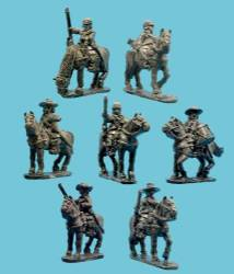 Mounted Dragoons with Command
