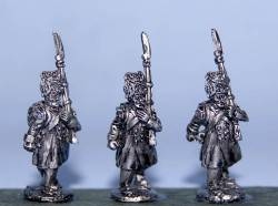 Flank Company in Greatcoats (Bearskins) March Attack