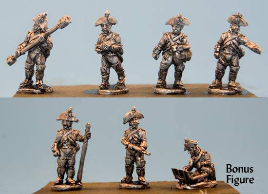 Foot Artillery Crews
