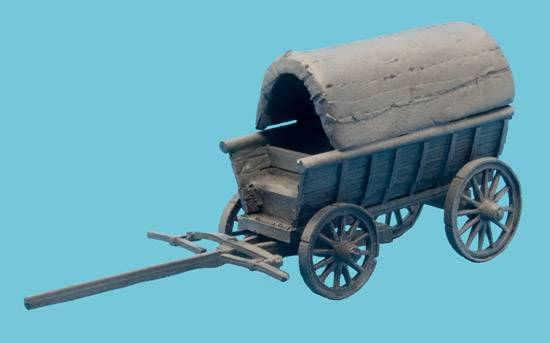 Supply Wagon #3 Covered