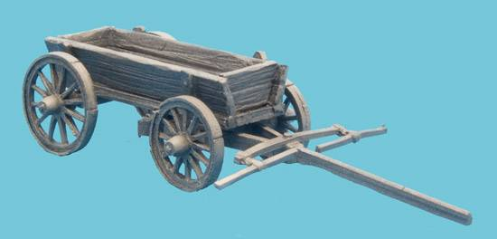 Wooden Supply Wagon