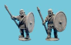 Imperial Roman Auxiliary Infantry in Mail