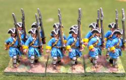 Infantry Tricorn Marching