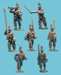 Mexican Light Infantry with Command