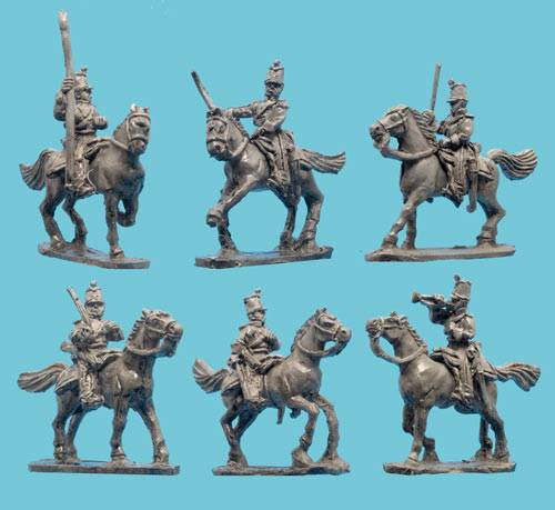 Mexican Light Cavalry with Command