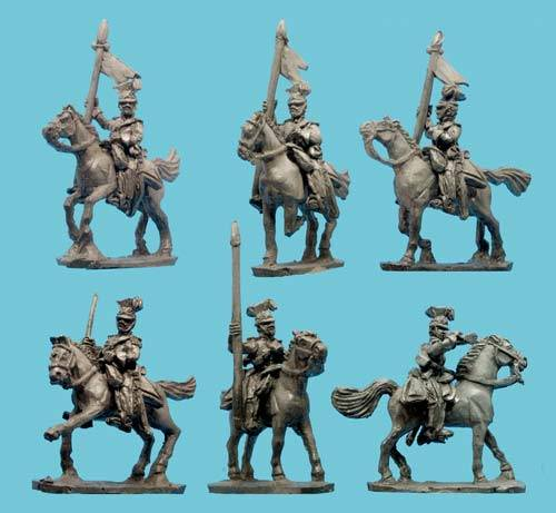 Mexican Jalisco Lancers with Comd