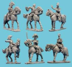Mexican Mounted Officers