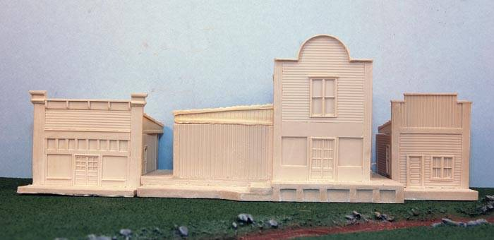 Western Buildings Set 1