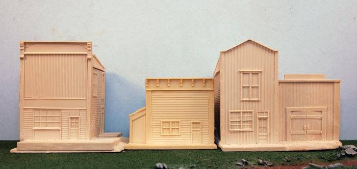 Western Buildings Set 3