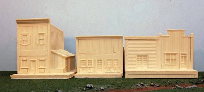 Western Buildings Set 4