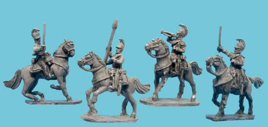 Cuirassier Command in Helmet