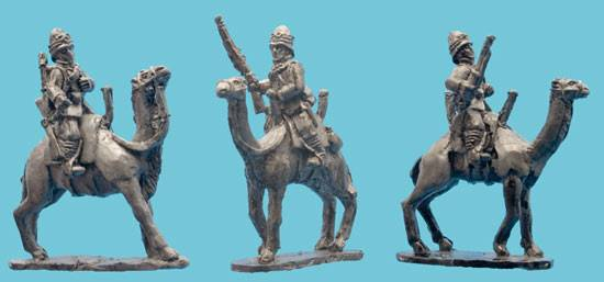 Mounted British Camel Corps
