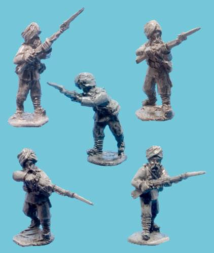 Sikh Infantry Advancing