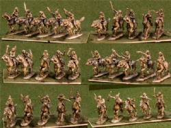 Mounted Plains Warriors