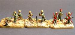 Middle Eastern Regular Infantry- Weapons and Command.