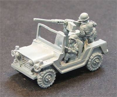 MUTT Jeep with 50 cal MG
