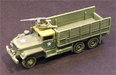 M54 5 Ton Open Truck with AA MG